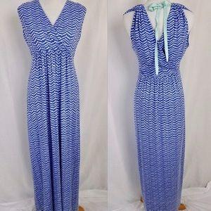 Vineyard Vines Whale Tail Chevron Maxi Dress 🐳